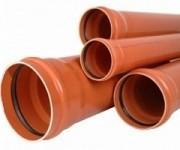 Трубы ПВХ для наружной канализации Киев