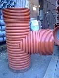 Трубы гофрированные для наружной канализации Киев