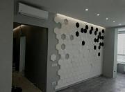 3D панели из гипса. Услуги 3д панели монтаж Киев