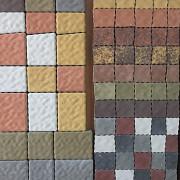 Тротуарная плитка-старый город, кирпичик, львовский камень, креатив, микс Харьков