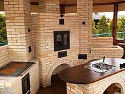Камин Барбекб дымоходы деревянные дома Днепр