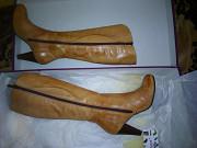 Кожаные сапожки женские 38 размер size доставка из г.Киев