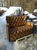 Золотой диван, кож.зам, велюр, бордо Киев