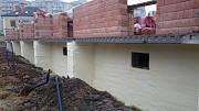 Гидроизоляция цокольных этажей и фундаментов Пенополиуретан жесткий напыляемый BASF, ППУ ПРОФИТ Киев