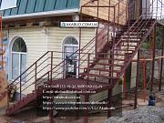 Производство и установка лестниц на металлическом каркасе по индивидуальному проекту под ключ Кривой Рог