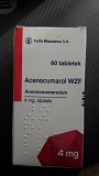 Аценокумарол Acenocumarol 4 мг на 60 таб.Сінкумар ліки з Польщі доставка из г.Львов