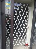 Раздвижные решетки Ромб Prof для защиты магазинов г. Запорожье Запорожье