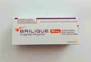 Brilique 90 мг на 56 шт Брилінта Брілінта доставка из г.Львов