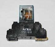 Реле ACKO-MY4NG с колодкой и индикатором Новомиргород