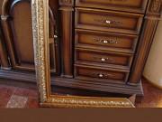 Реставрация лепнины на раме для картины. Украина Киев