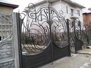 Ворота металлические, от простых, до кованных Одесса
