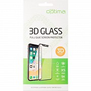 Защитное стекло Optima 3D for iPhone XS Max Black Полтава