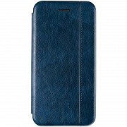 Book Cover Leather Gelius for Huawei P Smart (2019) Blue Полтава