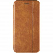 Book Cover Leather Gelius for Huawei P Smart (2019) Gold Полтава