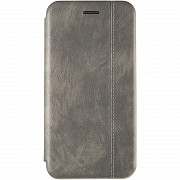 Book Cover Leather Gelius for Huawei P Smart (2019) Grey Полтава