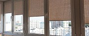 Джутовые роллеты - рулонные шторы из натурального материала. Киев