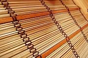 Бамбуковые рулонные шторы - с римской сборкой Киев