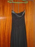 Платье черное итальянское, 44/S размер доставка из г.Киев