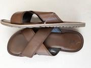 Босаножки новые мужские коричневые Next размер 44\10 из нат, кожи доставка из г.Киев