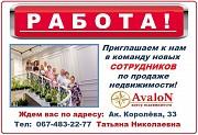 Требуется менеджер по продаже недвижимости (риэлтор) Одесса