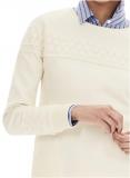 """Пуловер с кружевной отделкой белый новый """"Banana Republic"""" размер М/M состав 100% cotton доставка из г.Киев"""