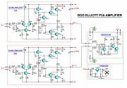 Усилитель мощности (блок УНЧ) ROD ELLIOT v.P3A (2x150 Вт) Новомиргород