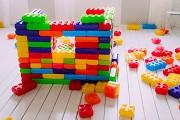 Конструктор из больших блоков 2 видов (40шт) MEGA Киев