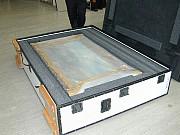 Коробка для картины для пересылки почтой DHL из Украины Киев