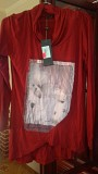 Кофта нарядная-Туника- платье Италия доставка из г.Львов