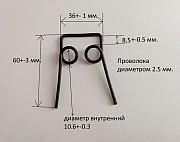 Комплект пружин для самокатов Mini Micro, Maxi Micro и ITrike. Пружины для ремонта самоката Харьков