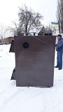 Пиролизный котел воздушного отопления мощностью 50 кВт от производителя Кременчуг