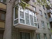 Окна балконы лоджии (вынос, обшивка, утепление) Киев