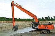 Копка, чистка водоёмов, рек, земляные работы спецтехникой Кролевец