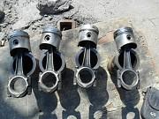 Поршня, шатуны, гильзы Рено, двигатель C1C (689) 1.0 л, оригинал 65 мм Винница