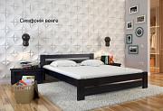 Ліжко нове, «Симфонія» натуральне дерево, в асортименті кольори і розміри Львов
