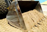 Песок речной и овражный, фасованный и навалом Киев