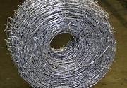 Проволока стальная колючая, гладкая, рифленая, сварочная и тд Днепр