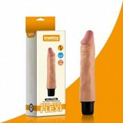 """Реалистичный вибратор - Reel Feel Flexi Vibrator Flesh 9,5"""" Луцк"""