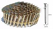 Барабанні цвяхи для бітумної черепиці 25 мм рефлені Киев