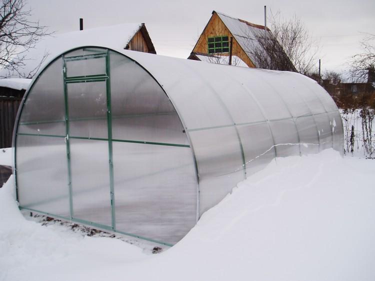 Теплица на зиму